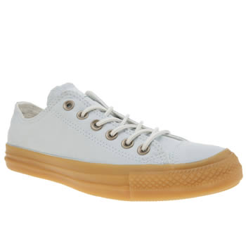 Converse Pale Blue All Star Gum Ox Trainers