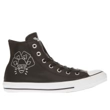 Converse Black & White All Star Hi The Clash Womens Trainers