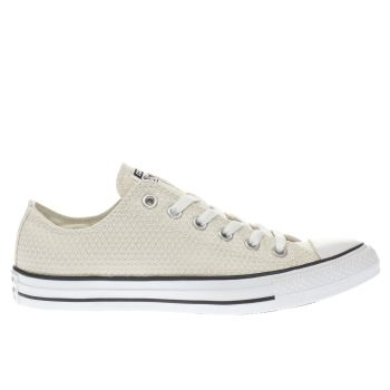 CONVERSE STONE ALL STAR SNAKE WOVEN OX TRAINERS