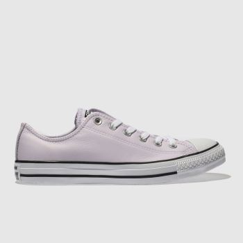Converse Lilac All Star Leather Ox Womens Trainers