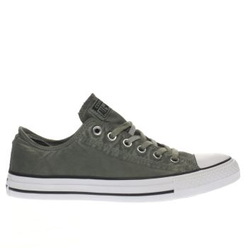 Converse Khaki All Star Kent Wash Ox Trainers