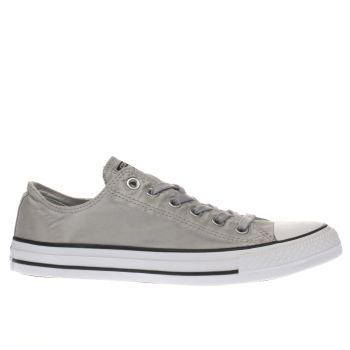 Converse Grey ALL STAR KENT WASH OX Trainers