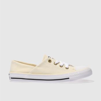 Converse Natural Coral Peached Canvas Ox Womens Trainers