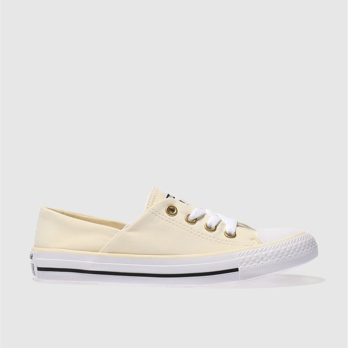 converse natural coral peached canvas ox trainers