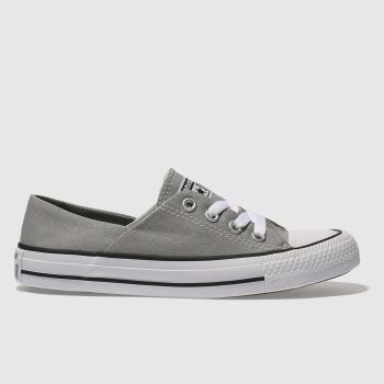 Converse Grey CORAL CANVAS OX Trainers