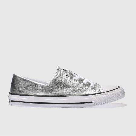 converse coral metallic canvas ox 1