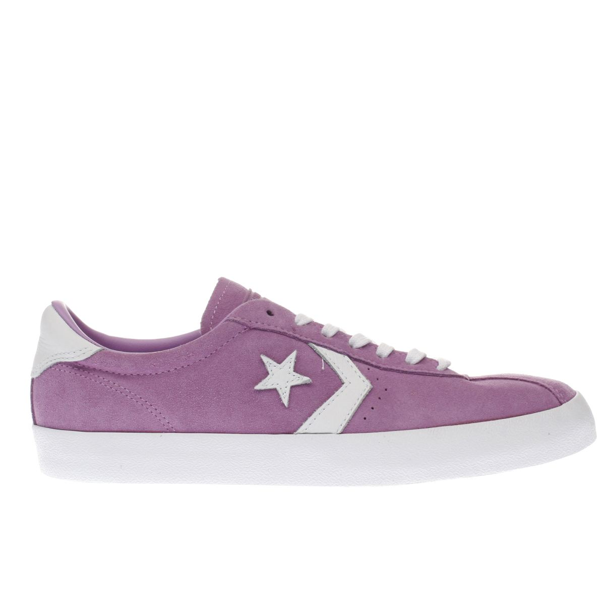 Converse Purple Breakpoint Suede Trainers