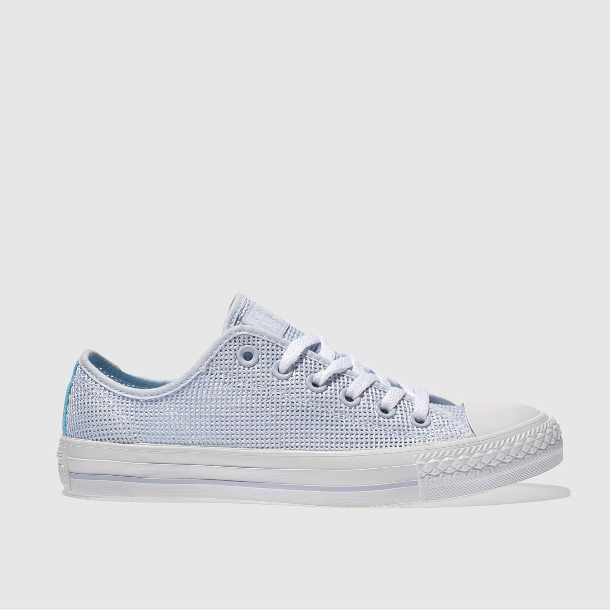 Converse Pale Blue All Star Perf Ox Trainers