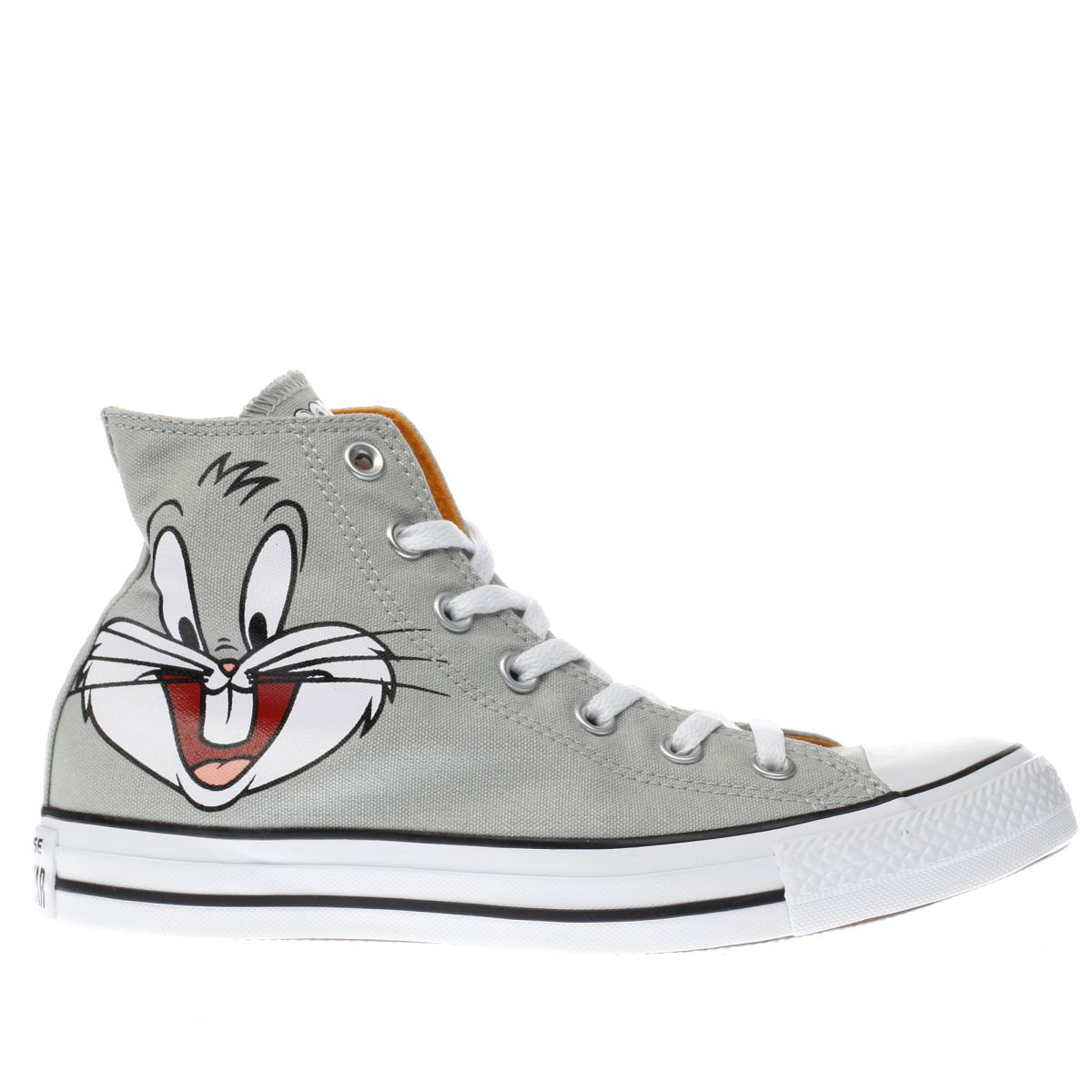 converse grey looney tunes bugs bunny trainers
