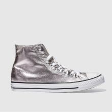 Converse Rose Quartz All Star Metallic Hi Womens Trainers