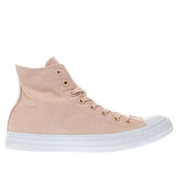 Converse Peach CHUCK TAYLOR ALL STAR DUSK HI Trainers