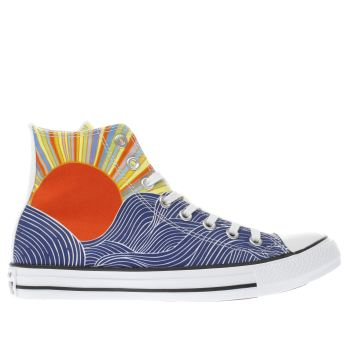 Converse Multi All Star Mara Hoffman Hi Womens Trainers