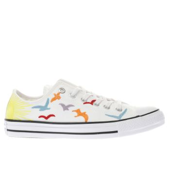 Converse Multi All Star Mara Hoffman Ox Womens Trainers