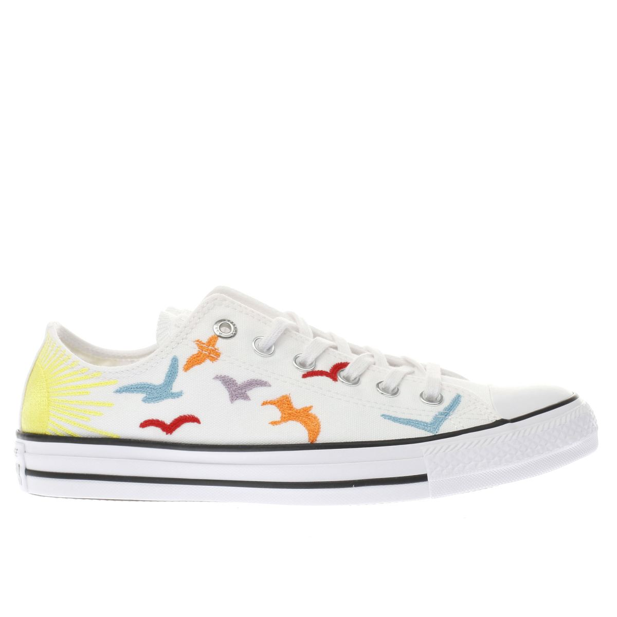 converse white all star mara hoffman ox trainers