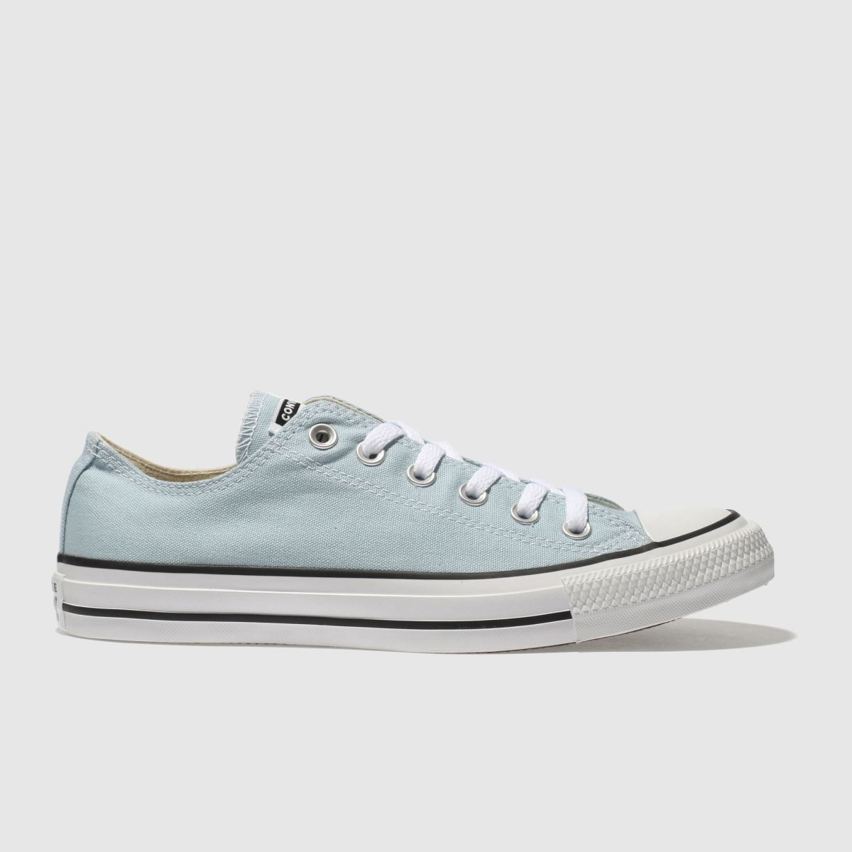 Converse Pale Blue All Star Canvas Ox Trainers