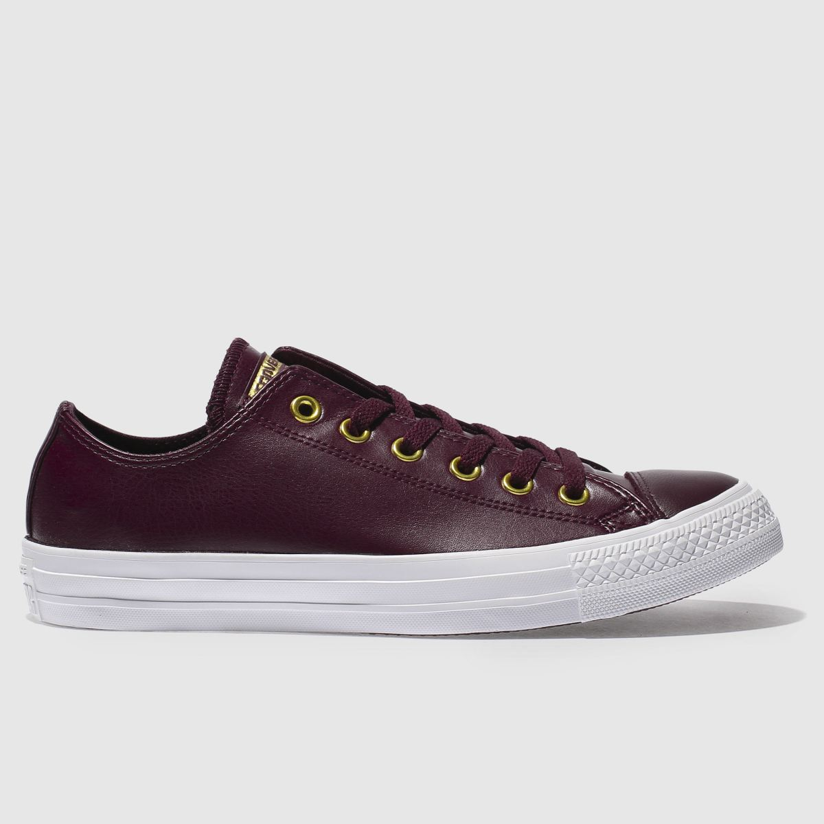 Converse Burgundy Chuck Taylor All Star Craft Ox Trainers