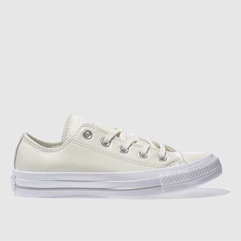 Converse Natural All Star Patent Ox Womens Trainers