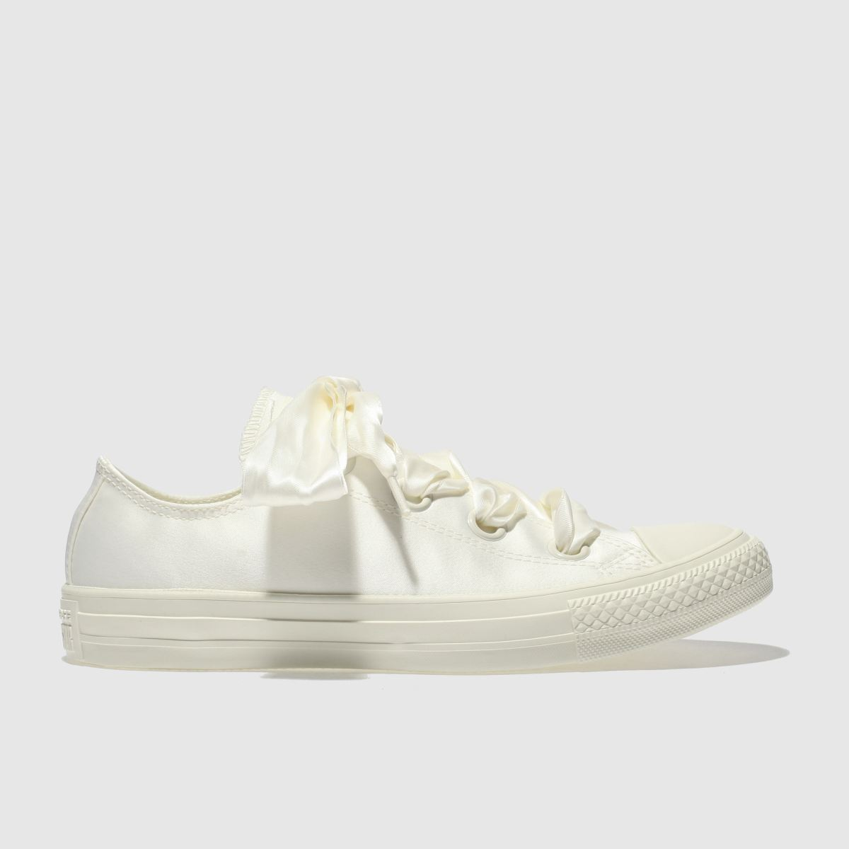 Converse Stone Big Eyelets Canvas Ox Trainers