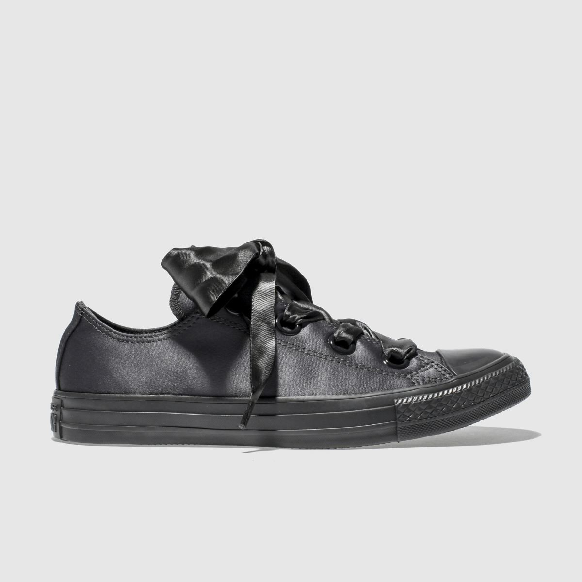 Converse Black All Star Big Eyelets Ox Trainers