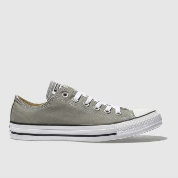 Converse Khaki All Star Mineral Shades Ox Womens Trainers