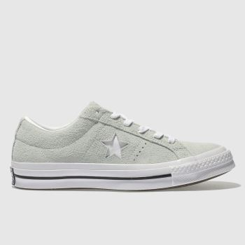 Converse Green One Star Suede Ox Womens Trainers