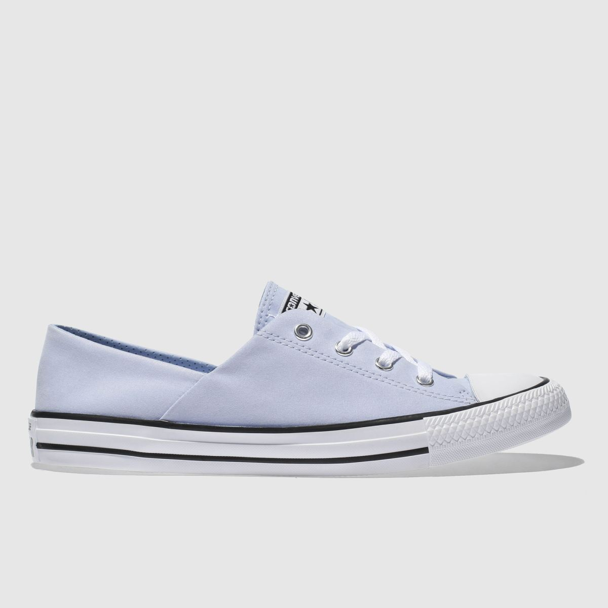 Converse Pale Blue Coral Peached Canvas Ox Trainers
