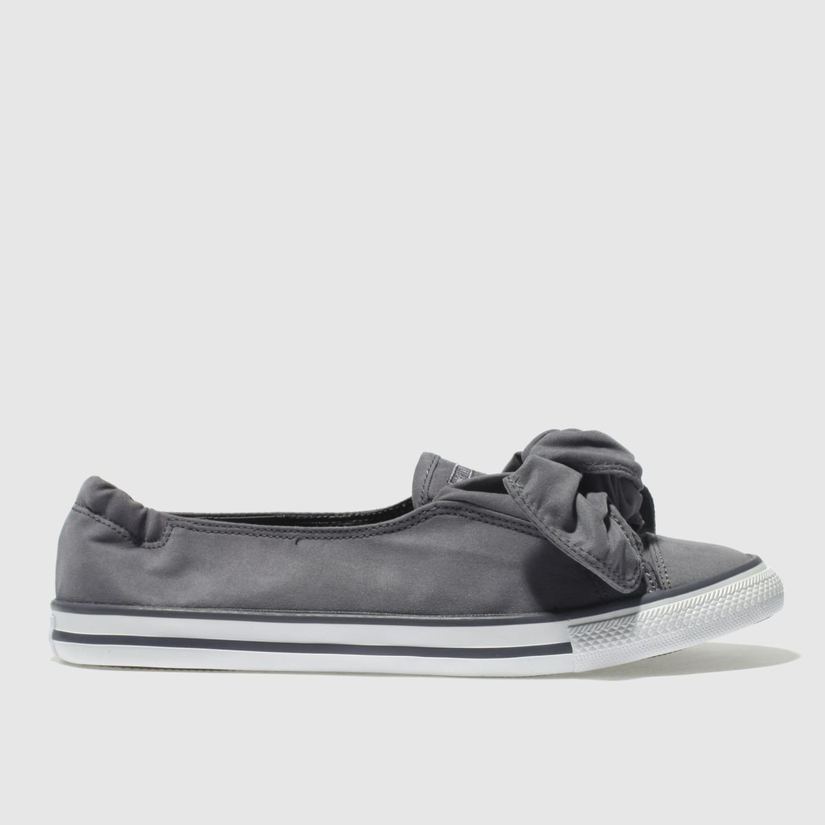 Converse Grey Chuck Taylor All Star Knot Ox Trainers