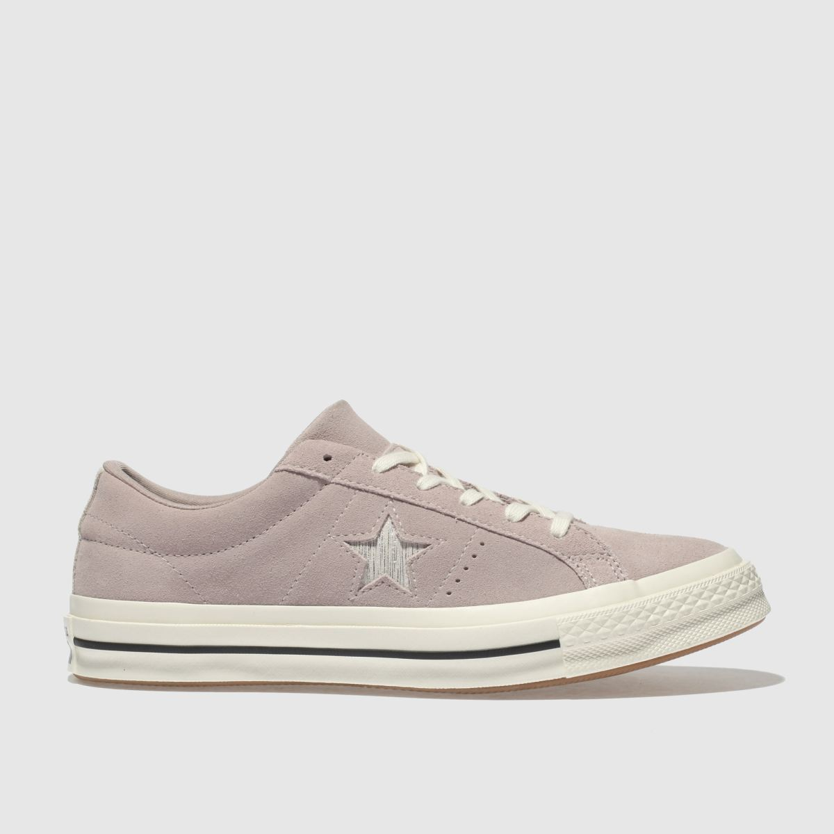 Converse Pale Pink One Star Ox Suede Trainers