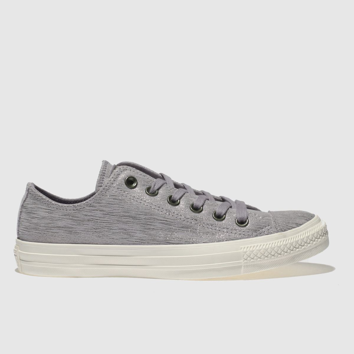 Converse Purple All Star Ox Metallic Trainers