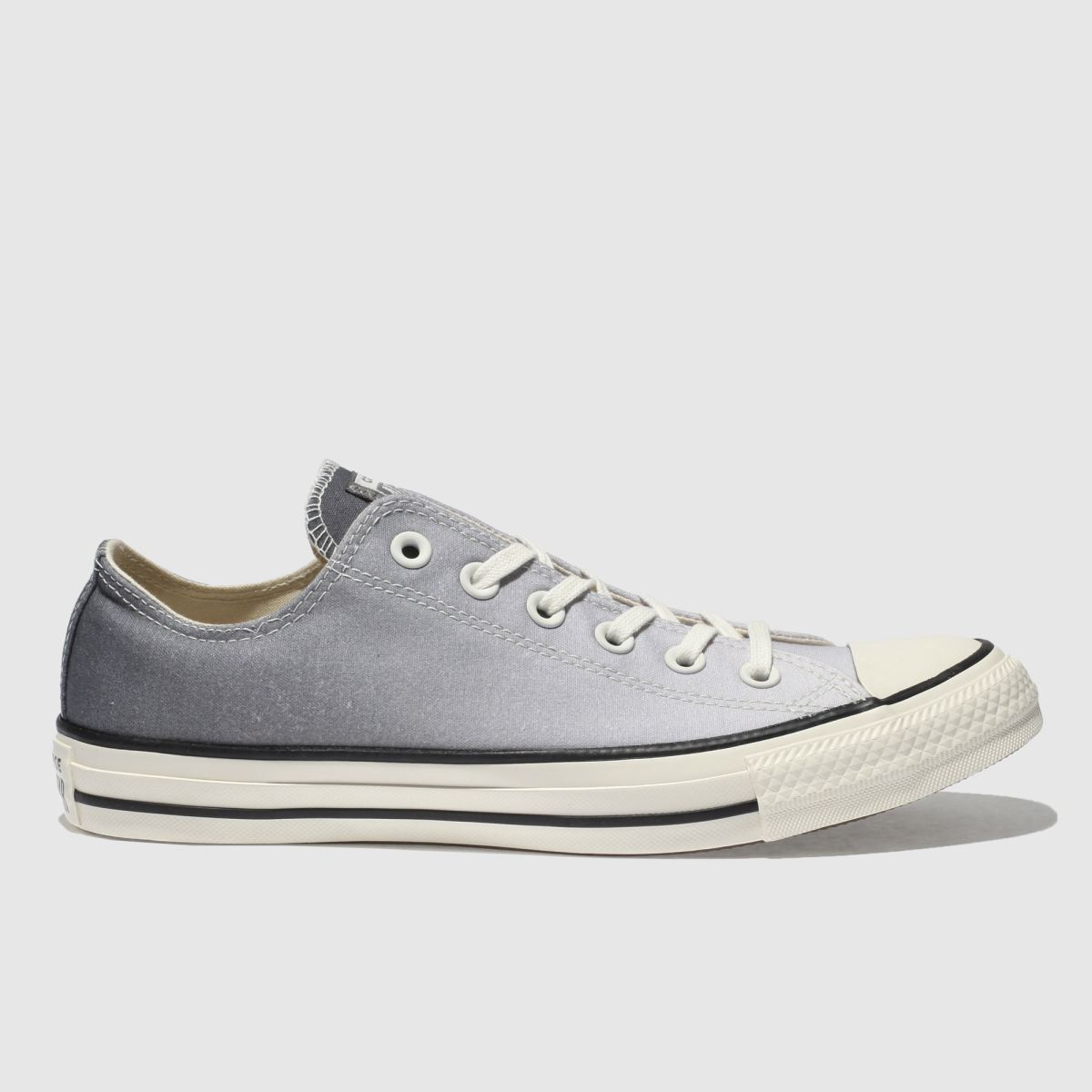 Converse Grey Chuck Taylor Ox Trainers