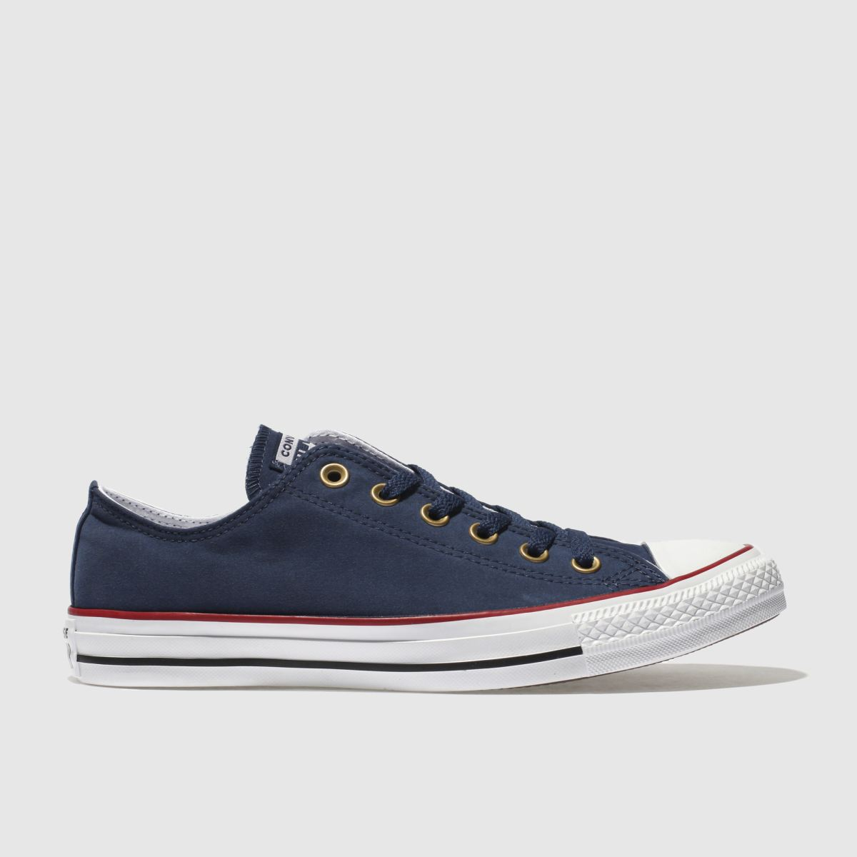 Converse Navy Chuck Taylor Peached Canvas Trainers