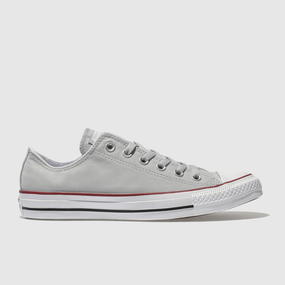 Converse Grey Chuck Taylor Peached Canvas Trainers