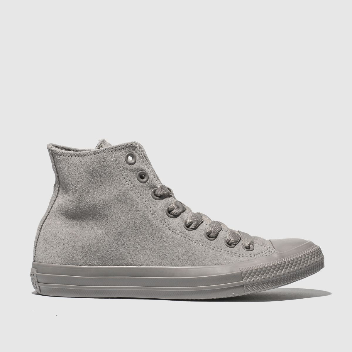 Converse Grey Chuck Taylor All Star Tonal Hi Trainers