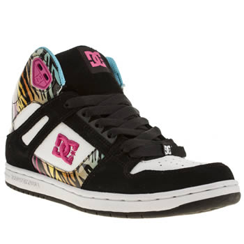 Womens Dc Shoes Multi Rebound Hi Trainers