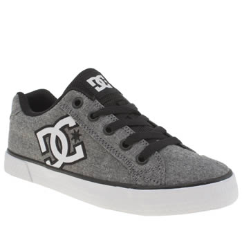 Womens Dc Shoes Grey & Black Chelsea Tx Se Trainers
