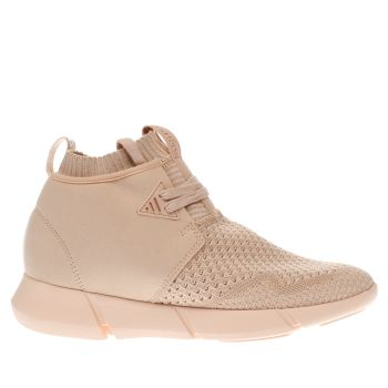 Cortica Pink Desert Knit Womens Trainers