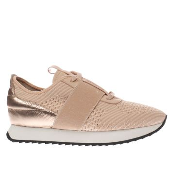 Cortica Pink Racer Knit Womens Trainers