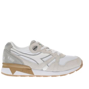 Diadora Grey N9000 Iii Womens Trainers