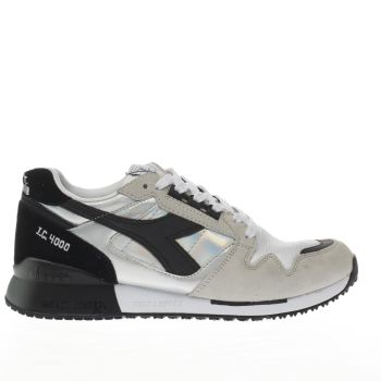 Diadora Black I.C. 4000 Hologram Womens Trainers