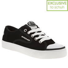 Black & White Dunlop Green Flash Lace Suede