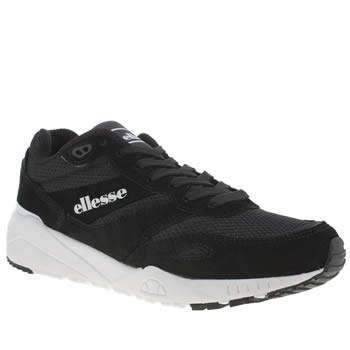 Ellesse Black & White Ls360 Trainers