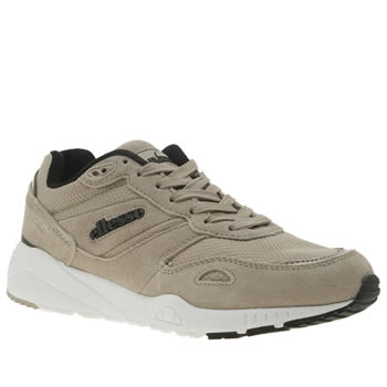 Ellesse Stone & Black Ls360 Womens Trainers