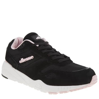 Ellesse Black & pink Ls360 Womens Trainers