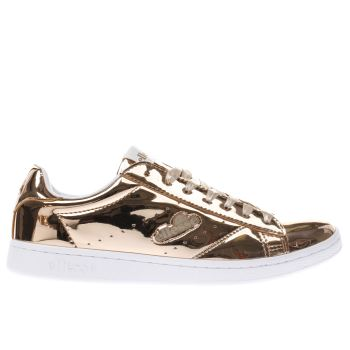 Ellesse Gold Anzia Womens Trainers