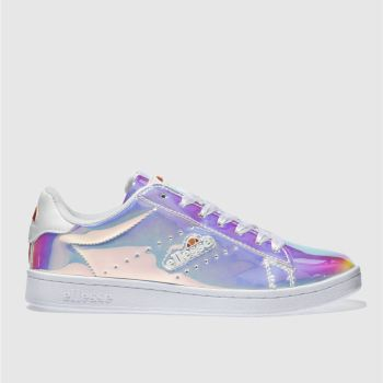 Ellesse Silver Anzia Womens Trainers