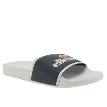 Ellesse White & Navy Fillipo Sandals