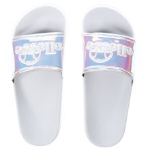 Ellesse White & Silver Fillipo Womens Sandals