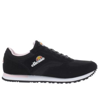Ellesse Black & White Ls220 Womens Trainers