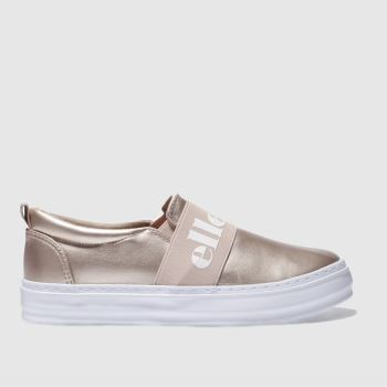 ELLESSE ROSE GOLD PANFORTE TRAINERS