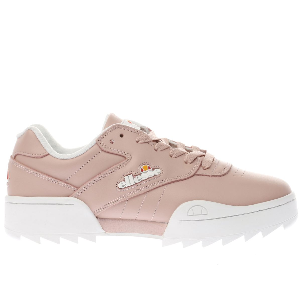 ellesse pale pink plativo trainers